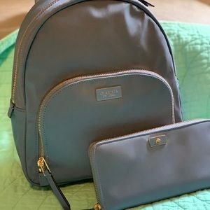 Kate Spade Dawn backpack and wallet set
